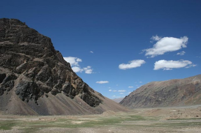 Гималайские горы на пути из Манали в Лех