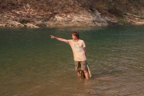 Romi на речке Бабай