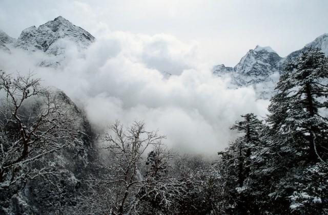 Начало весны в Кхумбу - р-н Эвереста