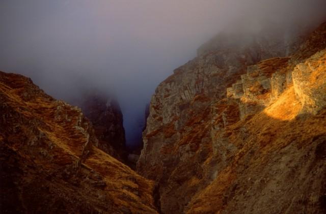 Расходящийся туман к северу от Дхаулагири