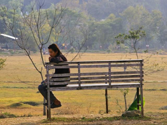одиночество..как у всех