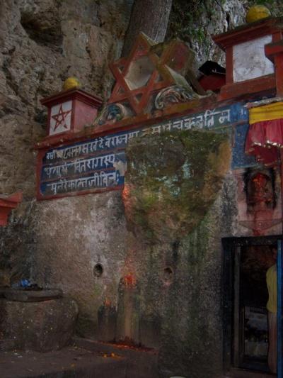 Пещера Гуру Ренпоче