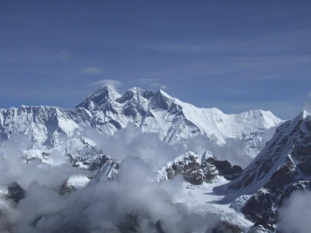 Из этой же точки виден Эверест