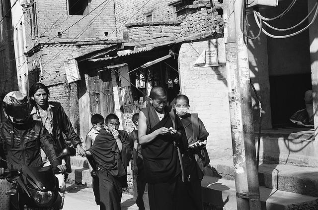 Монахи в Патане