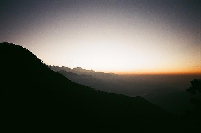 А еще в горах великолепные восходы!
