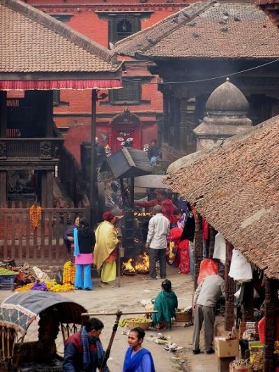 Катманду. Площадь Дурбар