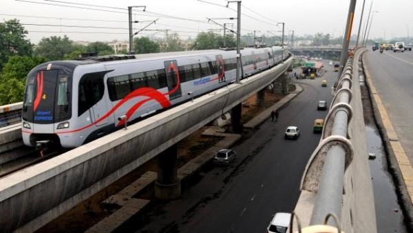 The Delhi Airport Metro Express
