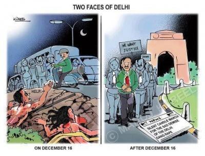 Two faces of Delhi