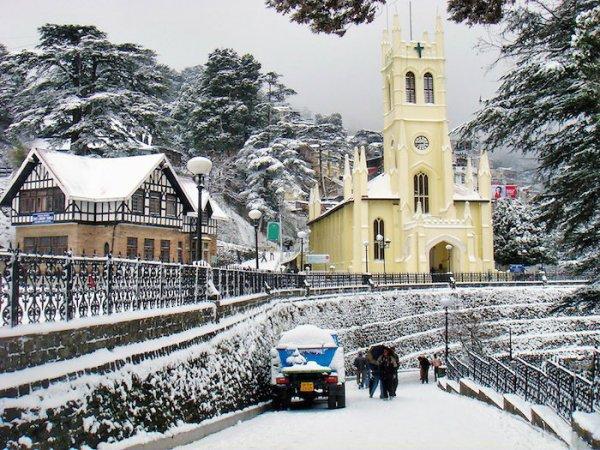 Снежная Шимла