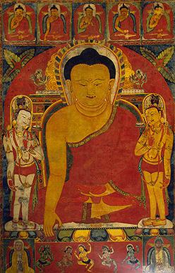 Алмазопрестольный Будда, XII-XIII вв.