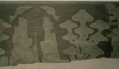 Роспись на шелке. Династия Западная Хань (25-220), Китай