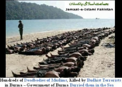 Dead bodies of Muslims in Burma - Government is Trying to Burry in the Open Sea
