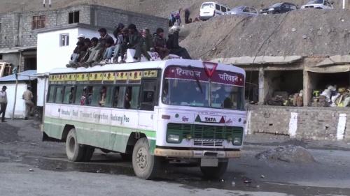 общественный транспорт из Казы