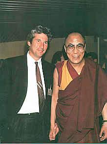 Ричард Гир и Далай-лама