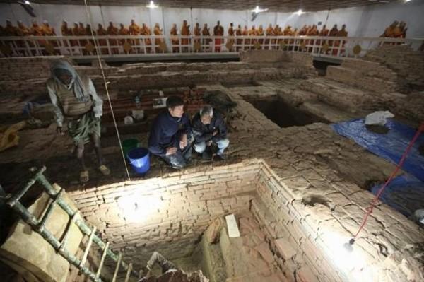 Археологи обнаружили самый древний в мире буддийский храм