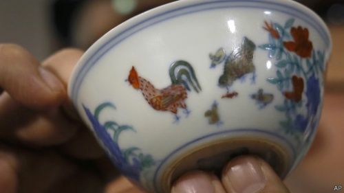 Куринная чашка. Возраст - 500 лет. Стоимость 36 млн. долларов
