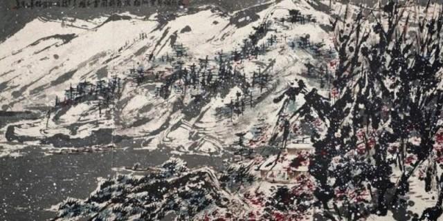 """Рисунок """"Заснеженные горы"""". Возраст поменьше, но и стоимость подоступней"""