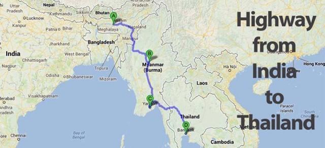 В 2017 году откроется дорога из Индии в Мьянму и Таиланд