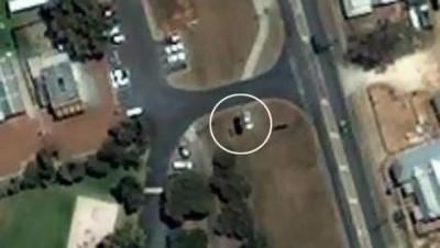 На картах Google обнаружили летающую машину