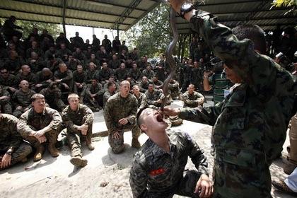 Американские морпехи на учениях в Таиланде