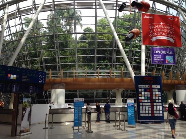 Куала-Лумпур. Аэропорт KLIA