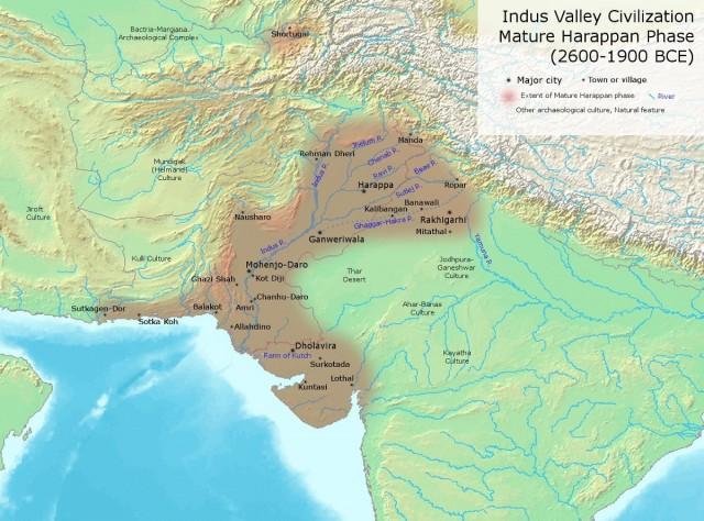 Индская (Хараппская) цивилизация в период расцвета