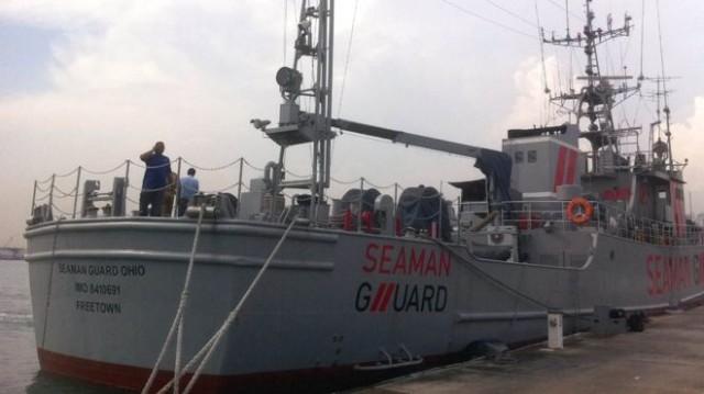 Вооруженная команда судна Seaman Guard Ohio за деньги охраняла торговые суда от пиратов