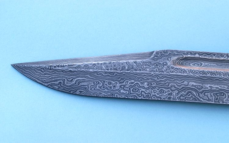 Ножи из дамасской стали своими руками
