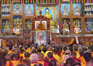 Монастырь Гьюдмед, Индия