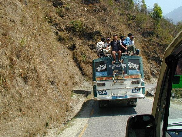 Дорога Непал-Тибет