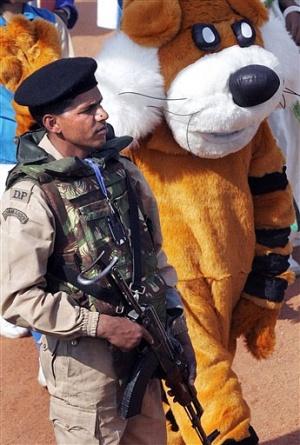 Военный парад по случаю национального праздника Индии - Дня республики