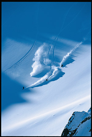 Фрирайдеры в Гималаях