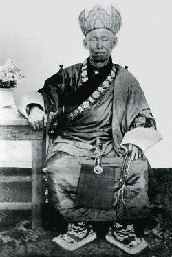 Хамбо-лама Итигэлов при жизни