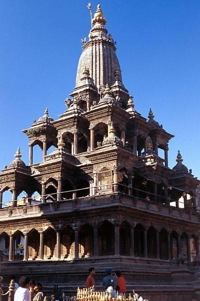 Храм Кришны в Лалитпуре