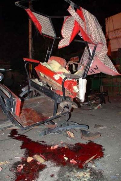 после взрыва на Badi Choupad