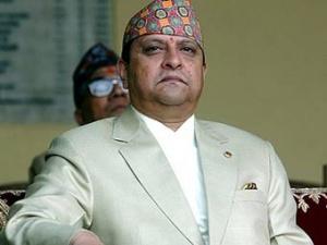 Бывший король Непала Гьянендра