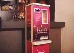 автоматы женских презервативов