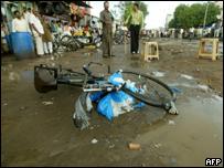 Взрывные устройства были закреплены на велосипедах