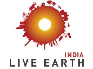 Эмблема проекта Live Earth India