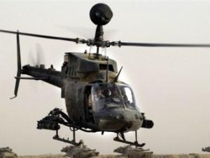 Вертолет OH-58 Kiowa.