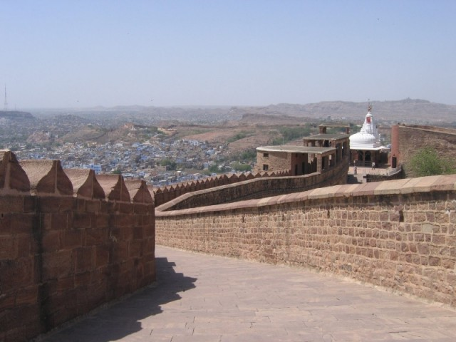 Храм в крепости Мехрангарх в Джодхпуре