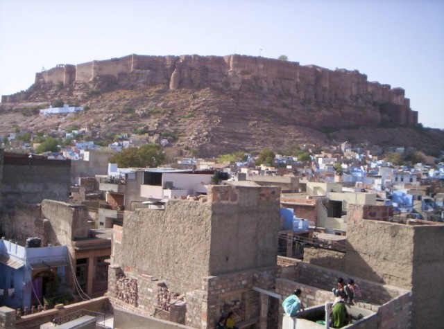 Крепость Мехрангарх в Джодхпуре