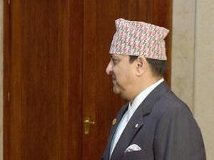 Бывший король Непала Гьянендра.