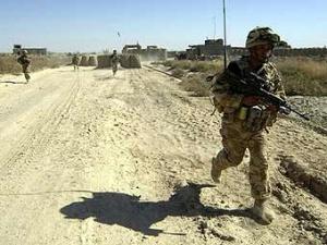 Солдаты-гуркхи в Афганистане.