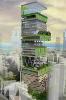 его будущий особняк в Мумбае