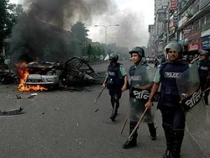 Беспорядки в Бангладеш