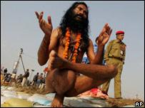 В Индии йога является составной частью индуизма
