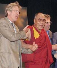 Ричард Гир и Далаи-лама