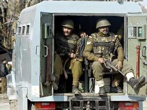 Индийские военные.