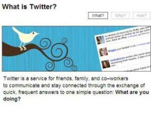 Скриншот страницы Twitter.com